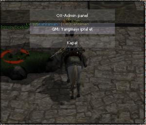 ox event nasıl yapılır?